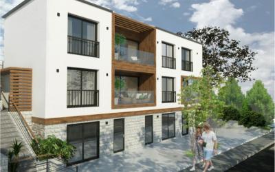 Kotor Şehir Merkezine Yakın Yeni Binada Satılık Penthouse Daire